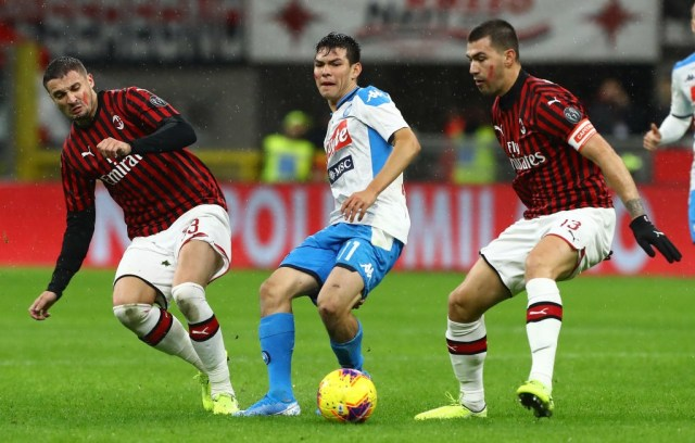Milan welcome Napoli as Man City take on Spurs