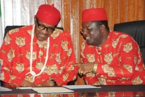 With Umahi, I foresee brighter future for democracy ― Buhari