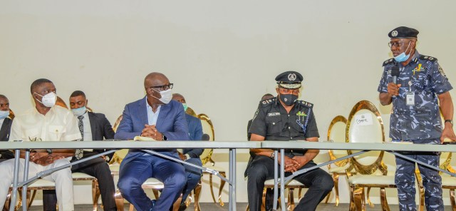 #EndSARS: Don't be demoralised, Obaseki urges police officers