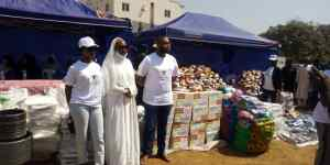 Mallpai Foundation donates items worth millions of Naira to support IDP camp in FCT
