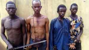 Police arrest five for robbing a Church, kidnap a member in Ogun
