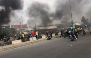 Chaos in Mile 2 as task force clash with Okada riders