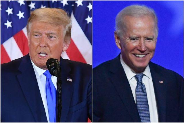 Trump, Biden