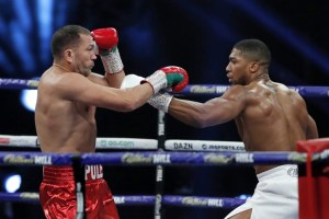 Buhari hails Anthony Joshua's victory over Pulev