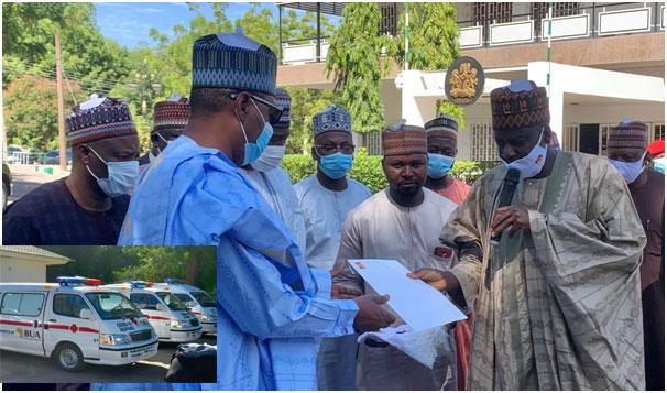 BUA Group donates 3 ambulances, 100,000 face masks to Borno