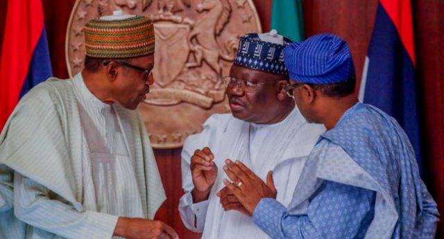 Buhari and Lawan