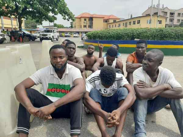 Harvests of arrests in Lagos as Police arrest notorious armed robber, arsonists