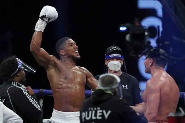 Anthony Joshua's victory: A worthy Christmas gift' — Gov Abiodun