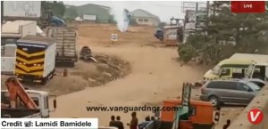 VIDEO: Uneasy calm as gas pipe leaks at Magboro