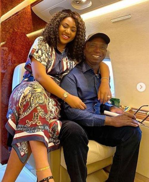 Nigerians praise Regina Daniel's husband Ned for standing beside her during surgery
