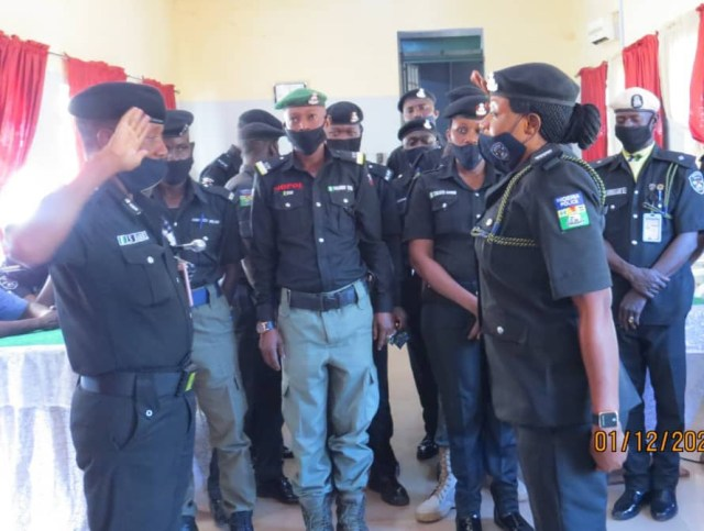 policemen in Sokoto