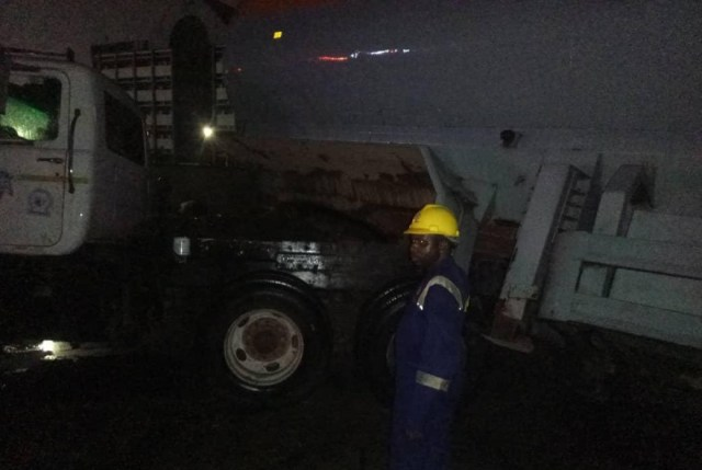 Inferno averted as petrol-laden tanker spills content in Apapa