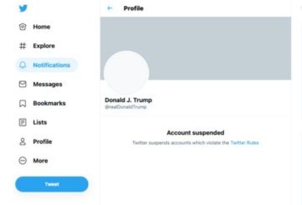BREAKING: Twitter permanently bans Donald Trump's account