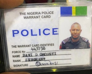 Busted!! Fake police, POS robber arrested in Lagos