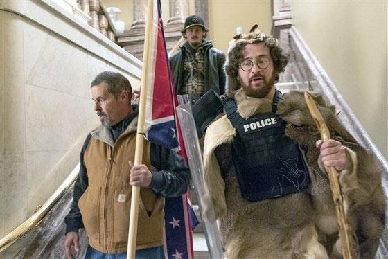 Capitol riot, Aaron Mostofsky