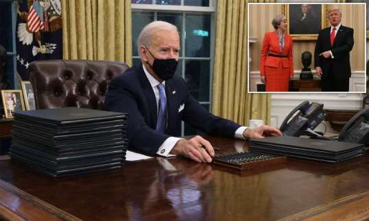 Biden adds South Africa to Covid travel bans