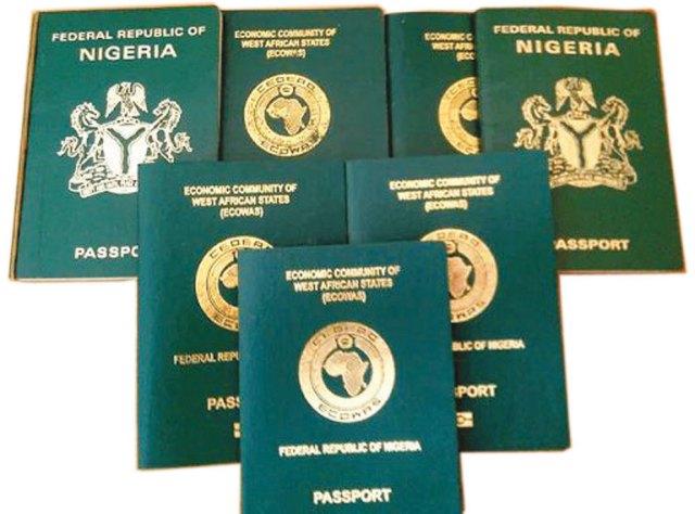 Nigeria passport, visa free