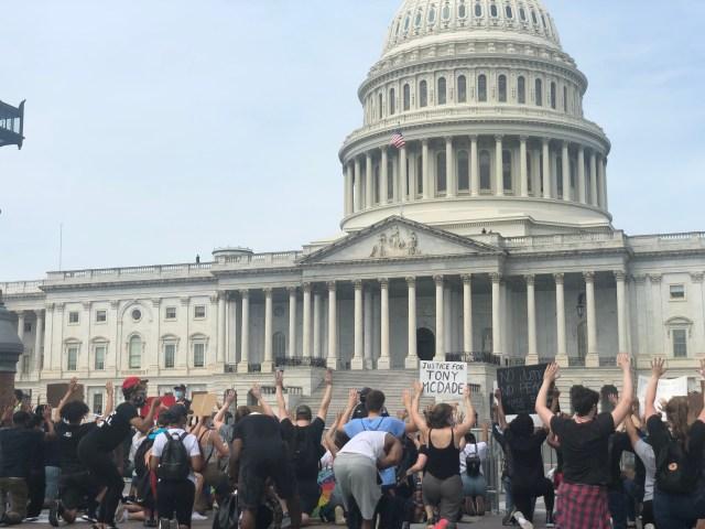 US Capitol unrest