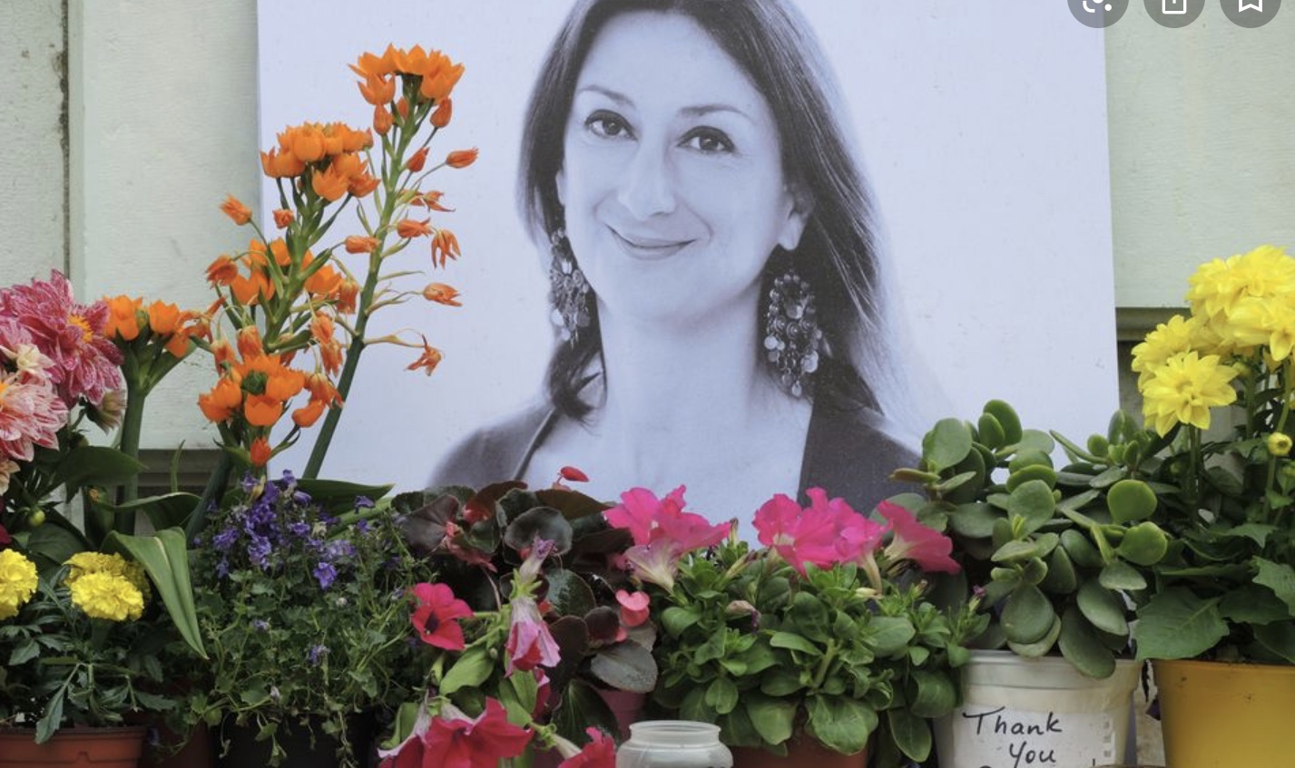 Two charged with supplying bomb that killed Maltese journalist