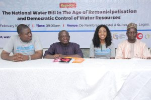 National Water Bill: CSOs, labour, community groups insist on public sector solutions to water challenges