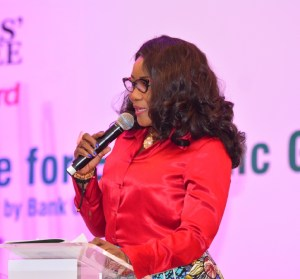 PHOTO NEWS: Cross section of dignitaries at Vanguard's CBN/Bankers' Committee summit on economy