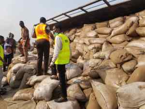 Tricyclist escapes as train, truck collide in Lagos