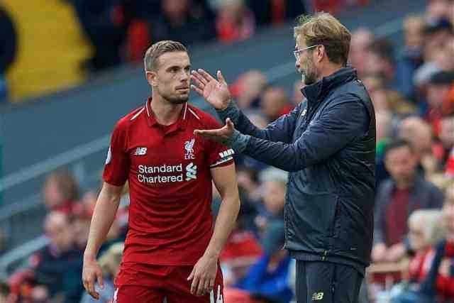 Klopp, Liverpool, Henderson