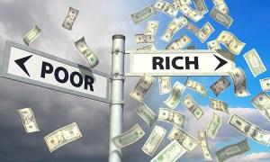 Did God make Jesus Christ poor so we become rich?