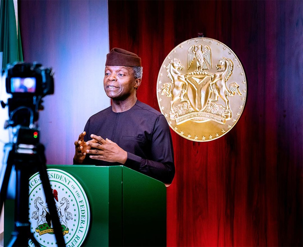 How Buhari administration is supporting growth of entertainment industry - Osinbajo