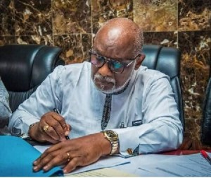 Akeredolu petitions police over former deputy gov's refusal to return govt vehicles