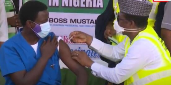 BREAKING: National Hospital doctor receives first COVID-19 vaccine jab