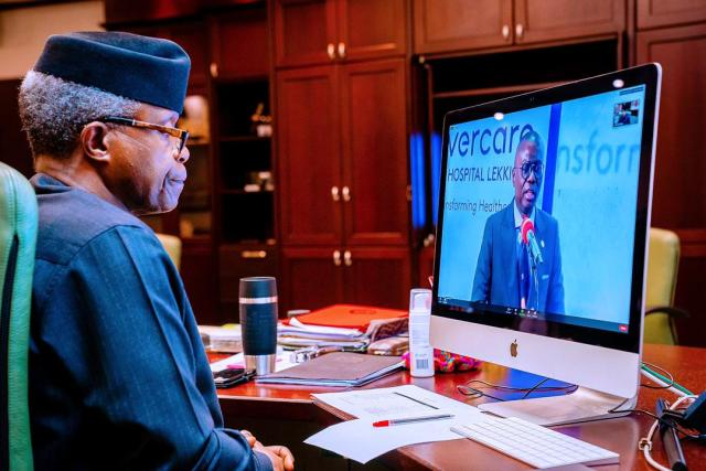Healthcare may become fastest growing sector in Nigerian economy - Osinbajo