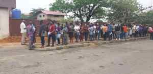 PHOTOS: Thousands of students undergo screening for SAT at UNILAG Int'l school