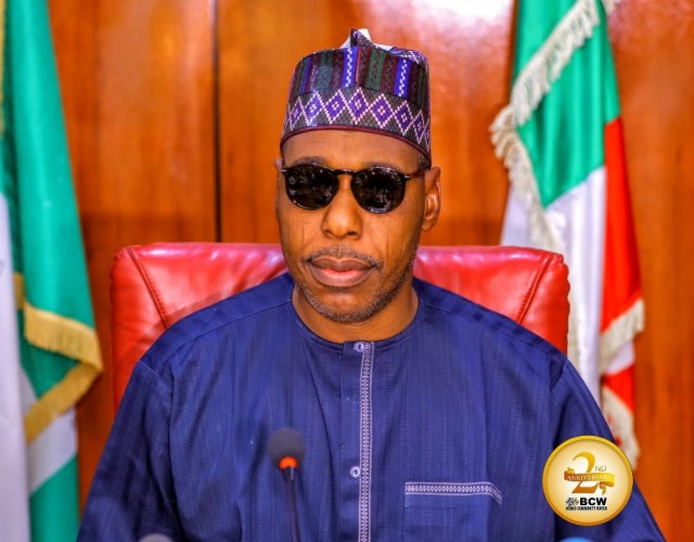 Zulum misses Boko Haram ambush, as terrorists attack Borno Relief Committee officials