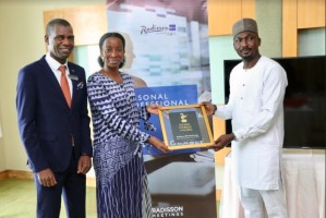 Nigeria Tourism Awards honours Radisson Blu as Best Int'l Chain Hotel