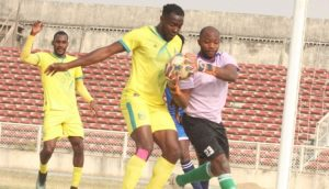 NPFL: Auwalu's freekick helps Pillars force Rangers to 1-1 draw