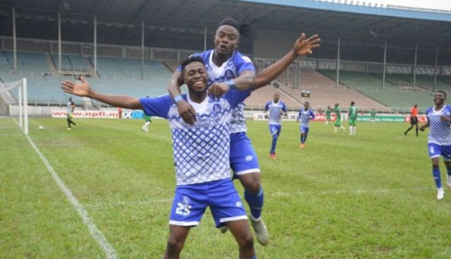 NPFL: Rivers Utd maintain perfect home record with 2-0 win over Jigawa GS