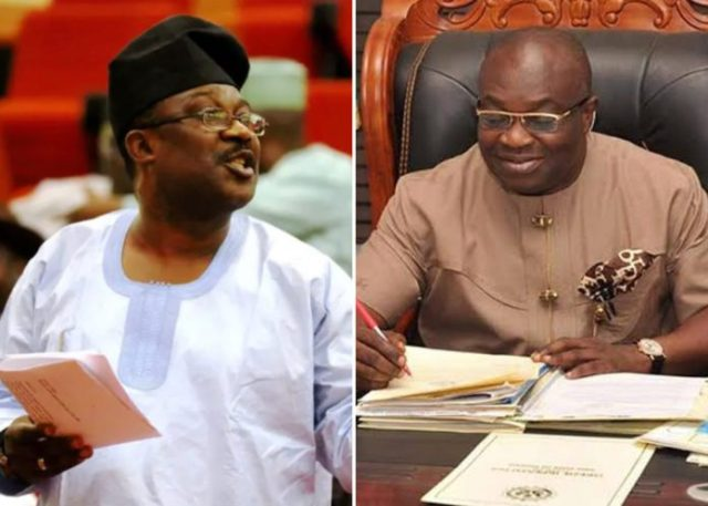I can't run after lunatic who stole my clothes, Ikpeazu replies Adeyemi