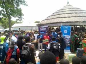 Refugees: Group donates food items to 5000 Cameroonian households in Nigeria