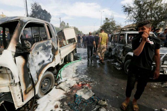 Explosion in Baghdad kills one, injures 12