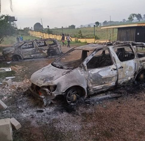 attacks on police facilities