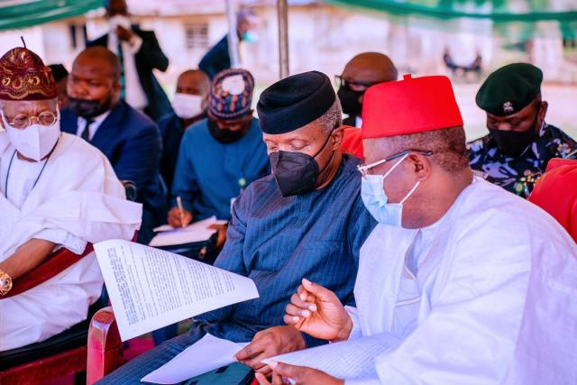 Ebonyi: Osinbajo assures of justice after herders attacks, communal clashes
