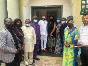 Igbo, Yoruba leaders pay condolence visits to Odumakin, Chukwuma families