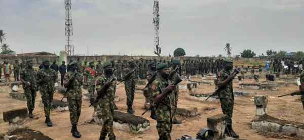 Dousing tension, stopping further military action after killing of 12 soldiers in Benue