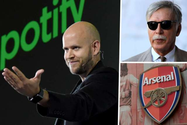 Spotify founder says bid to buy Arsenal rejected by club owner