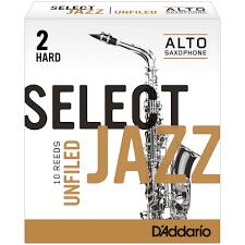 D'Addario Unfiled Select Jazz Alto Reeds