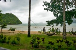 LAS CABANAS RESORT – PALAWAN, PHILIPPINES - That's our hammock