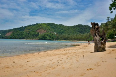 LAS CABANAS RESORT – PALAWAN, PHILIPPINES - The beach in front of the resort