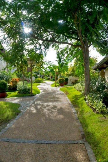 THE CRIMSON RESORT & SPA – MACTAN, CEBU – PHILIPPINES - Small secluded town in the hotel