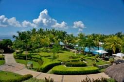 THE CRIMSON RESORT & SPA – MACTAN, CEBU – PHILIPPINES - The garden and pool area
